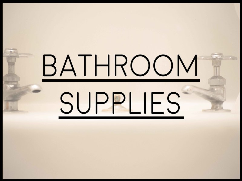 Ranked List Of Supplies For A New Bathroom Home Supply ListsHome - Bathroom supplies list