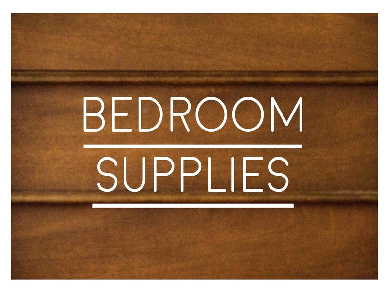 Ranked List Of Supplies For A New Bedroom. U201c