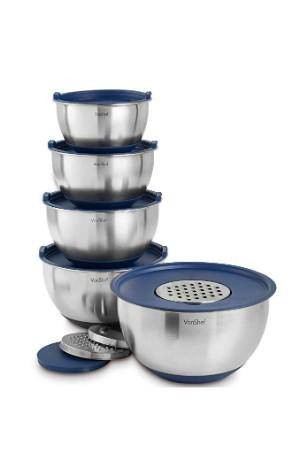 VonShef Mixing Bowls Set