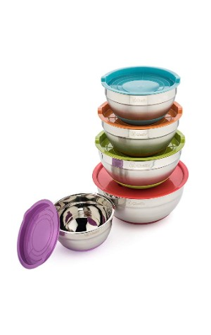 Cheffy Stainless Steel Mixing Bowls