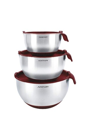 AVACRAFT Stainless Steel Mixing Bowl set