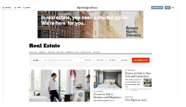 The New York Times - Real Estate