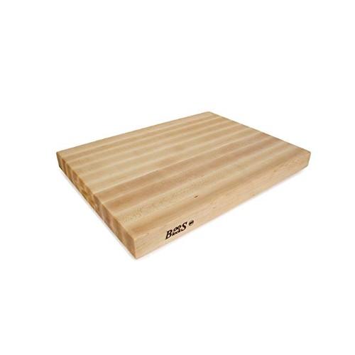 John Boos Maple Wood Edge Grain Reversible Cutting Board