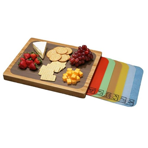 Seville Classics Easy-to-Clean Cutting Board