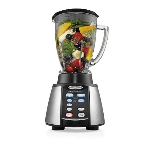 Oster Reverse Crush Counterforms Stainless Steel Blender