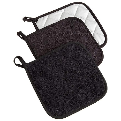 DII Cotton Terry Pot Holders
