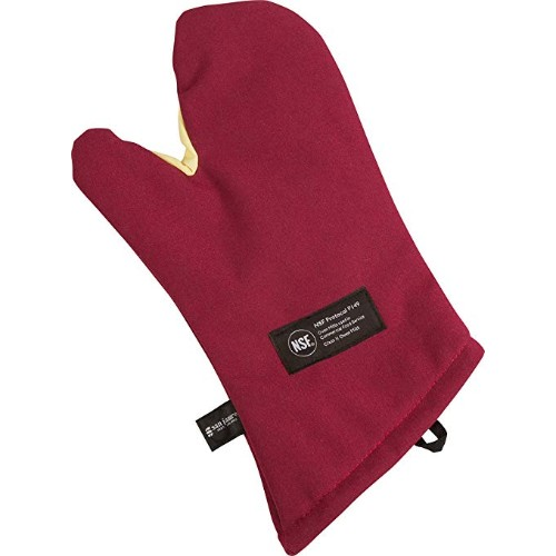 San Jamar KT0215 Cool Touch Flame Temperature Protection Oven Mitt