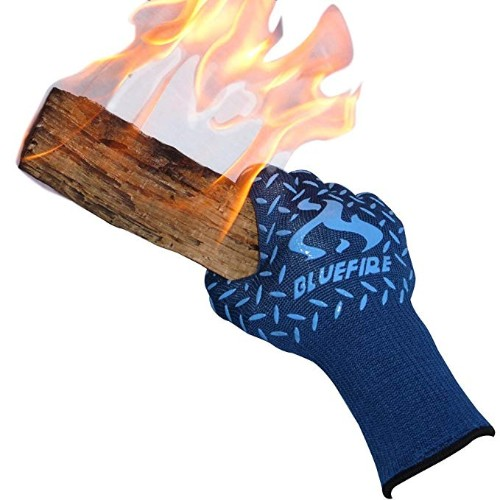 BlueFire Pro Heat Resistant Oven Gloves