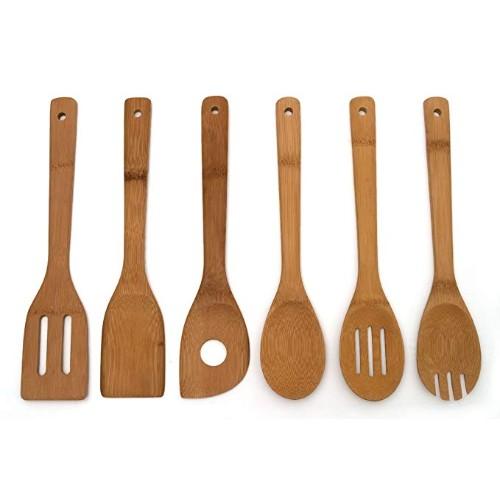Lipper International 826 Bamboo Kitchen Spoon
