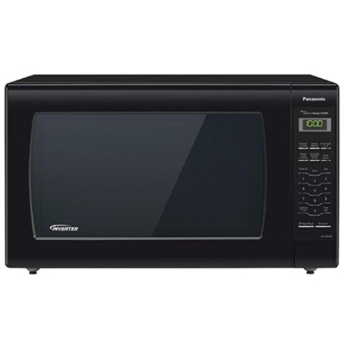Panasonic NN-SN936B Countertop Microwave with Inverter Technology