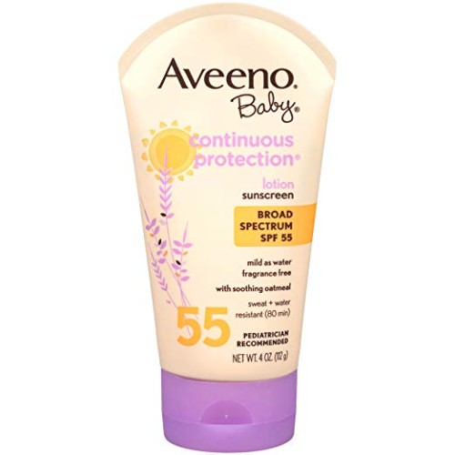 Aveeno: Natural Protection Lotion Sunscreen, Baby Continuous Protection Sunscreens