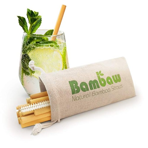 Bambaw Reusable Bamboo Cocktail Straws