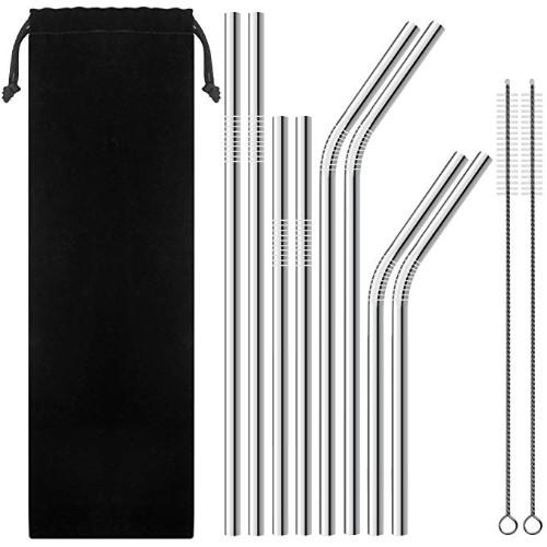 Senhai Stainless Steel Drinking Straws