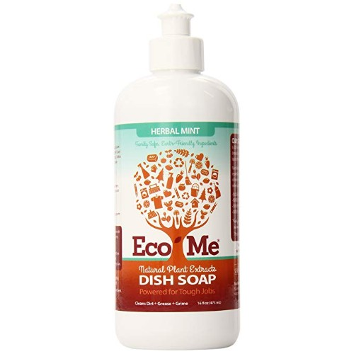 Eco-Me Herbal Mint Dish Soap