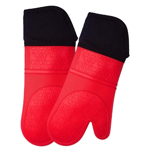 HOMWE Professional Silicone Oven Mitts